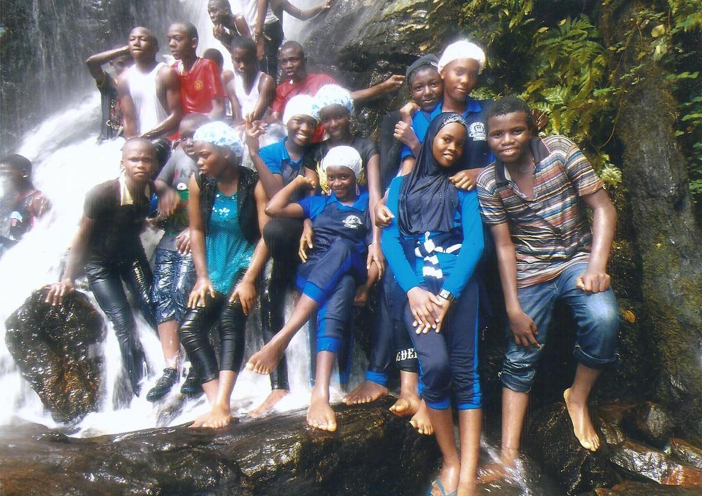 visit to Olumirin erinjesa waterfall
